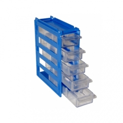 Hotsale plastic injection mold crate with lid